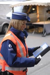 Lokale politie Leuven police locale de Louvain
